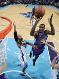 Sacramento Kings v New Orleans Hornets: Samuel Dalembert Photographic Print by Layne Murdoch