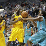 Sioux Falls Skyforce v Fort Wayne Mad Ants: Rodrick Wilmont Photographic Print by Ron Hoskins