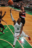 Portland Trail Blazers v Boston Celtics: Rajon Rondo Photographic Print by Brian Babineau
