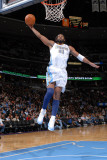 Minnesota Timberwolves v Denver Nuggets: Nene Photographic Print by Garrett Ellwood