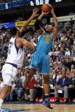 New Orleans Hornets v Dallas Mavericks: David West and Tyson Chandler Fotografie-Druck von Layne Murdoch