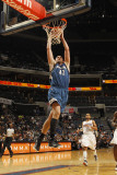 Minnesota Timberwolves v Charlotte Bobcats: Kevin Love Photographic Print by Kent Smith