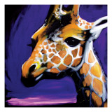 Giraffe Giclee Print