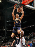 Indiana Pacers v Atlanta Hawks: Josh McRoberts Photographic Print by Kevin Cox