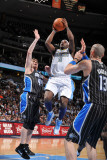Orlando Magic v Denver Nuggets: Ty Lawson and Jason Williams Photographic Print by Garrett Ellwood