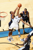 Memphis Grizzlies v Washington Wizards: Nick Young and Darrell Arthur Photographic Print by Ned Dishman