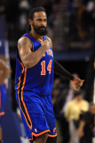 New York Knicks v Golden State Warriors: Ronny Turiaf Photographic Print by Ezra Shaw
