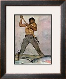 """Man-Killer"", January 27,1940 Framed Giclee Print by Norman Rockwell"