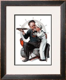 """Setting One's Sights"" or ""Ship Ahoy"", August 19,1922 Framed Giclee Print by Norman Rockwell"