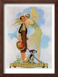 """Springtime, 1933"", April 8,1933 Framed Giclee Print by Norman Rockwell"