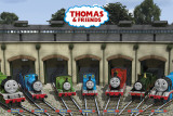 THOMAS & FRIENDS - Garage Poster