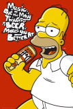 SIMPSONS - Homer Music Posters