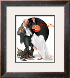 """Halloween"", October 23,1920 Framed Giclee Print by Norman Rockwell"