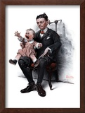 """Portrait"", July 9,1921 Framed Giclee Print by Norman Rockwell"