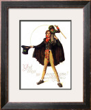 """Tiny Tim"" or ""God Bless Us Everyone"", December 15,1934 Framed Giclee Print by Norman Rockwell"