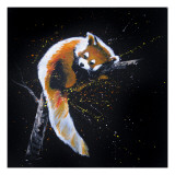Red Panda In A Tree Lámina giclée