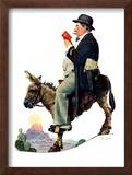 """Prospector"", July 13,1929 Framed Giclee Print by Norman Rockwell"
