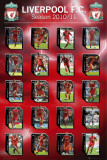 LIVERPOOL - Squad Profiles Posters