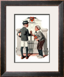 """Rivals"", September 9,1922 Framed Giclee Print by Norman Rockwell"