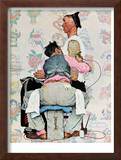 """Tattoo Artist"", March 4,1944 Framed Giclee Print by Norman Rockwell"
