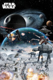 STAR WARS - Battle Kunstdrucke