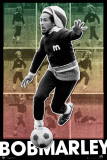 BOB MARLEY - Football Prints