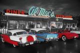 Al Mac's Diner Kunstdruck