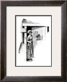 """""""A Love Story"""" page 9 Framed Giclee Print by Norman Rockwell"""
