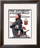 """Housekeeper"" Saturday Evening Post Cover, March 27,1920 Framed Giclee Print by Norman Rockwell"