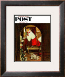 """Choirboy"" Saturday Evening Post Cover, April 17,1954 Framed Giclee Print by Norman Rockwell"