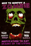 IDENTIFY A ZOMBIE Posters