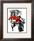"""""""Candy"""", June 27,1925 Framed Giclee Print by Norman Rockwell"""
