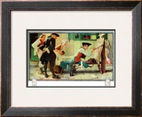 """The New Tavern Sign"", February 22,1936 Framed Giclee Print by Norman Rockwell"