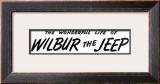 """The Wonderful Life of Wilbur the Jeep"" F, June 1,2008 Framed Giclee Print by Norman Rockwell"