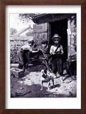 """Slim Finnegan"" B, July 8,1916 Framed Giclee Print by Norman Rockwell"