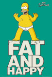 SIMPSONS - Fat &amp; Happy Prints
