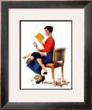 """Child Psychology"" or ""Spanking"", November 25,1933 Framed Giclee Print by Norman Rockwell"