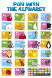 EDUCATIONAL - Alphabet - Posterler