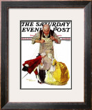 """Marionettes"" Saturday Evening Post Cover, October 22,1932 Framed Giclee Print by Norman Rockwell"