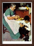 """""""Down-East  Ambrosia"""", March 19,1938 Framed Giclee Print by Norman Rockwell"""