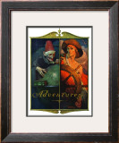 """Adventurers"", April 14,1928 Framed Giclee Print by Norman Rockwell"