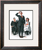 """Recitation"", June 14,1919 Framed Giclee Print by Norman Rockwell"