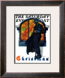 """Christmas"" Saturday Evening Post Cover, December 6,1930 Framed Giclee Print by Norman Rockwell"