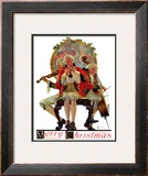 """Three Victorian Musicians"", December 12,1931 Framed Giclee Print by Norman Rockwell"