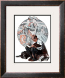 """Age of Romance"", November 10,1923 Framed Giclee Print by Norman Rockwell"