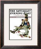 """Defeated Suitor"" Saturday Evening Post Cover, October 2,1926 Framed Giclee Print by Norman Rockwell"