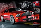 EASTON - Red Mustang Plakater