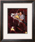 """""""Charwomen"""", April 6,1946 Framed Giclee Print by Norman Rockwell"""
