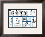 """Norman Rockwell Visits a Country School"" B, November 2,1946 Framed Giclee Print by Norman Rockwell"