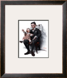 """""""Portrait"""", July 9,1921 Framed Giclee Print by Norman Rockwell"""